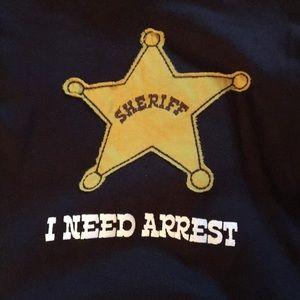 NWT lazy one sherif pajamas size 6